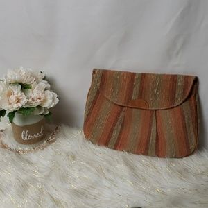 Valerie Made in Italy Vintage Clutch